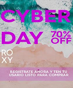 cyberday en Roxy