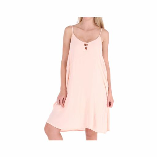 Vestido Roxy Full Bloom Peach Whip