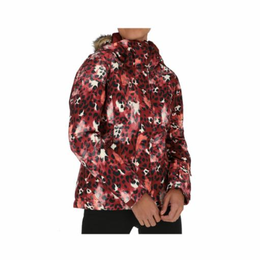 Parka Roxy Jet Ski Oxblood Red