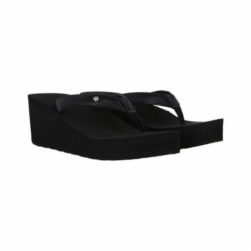 Sandalia Roxy Mellie Wedge Black