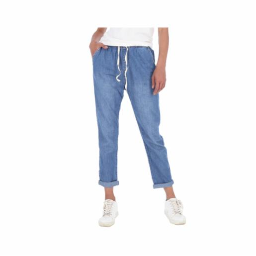 Pantalón Roxy Coffee Blues Medium Blue