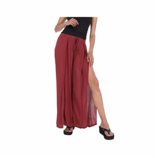Pantalón Roxy Kuta Oxblood Red