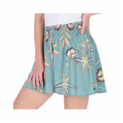 Shorts Roxy I Need Your Love Trellis Bird Flower