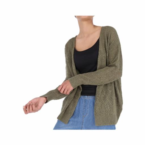 Cardigan Roxy Summer Bliss Burnt Olive