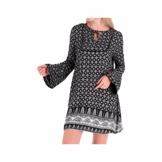 Vestido Roxy Brilliant Sky Anthracite South Border