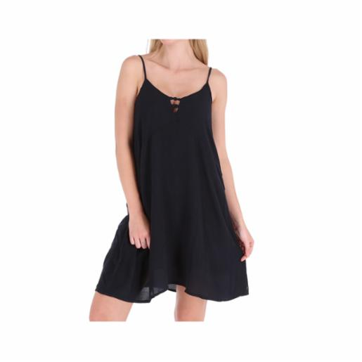 Vestido Roxy Full Bloom True Black
