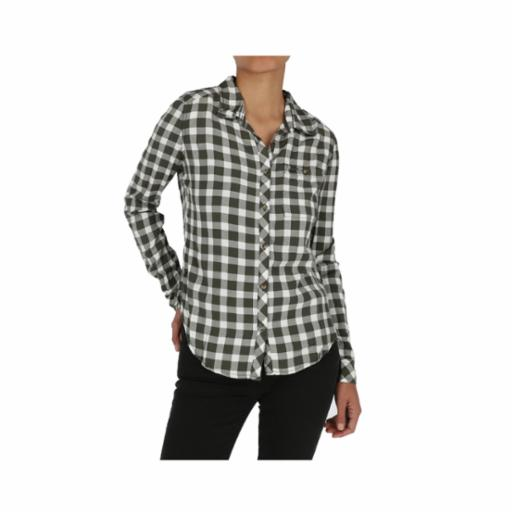 Camisa Roxy Capital Dream Thyme Northy Plaid