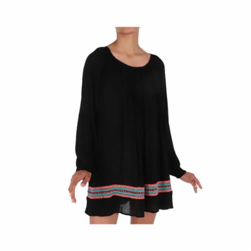 Vestido Roxy Albe Loose True Black