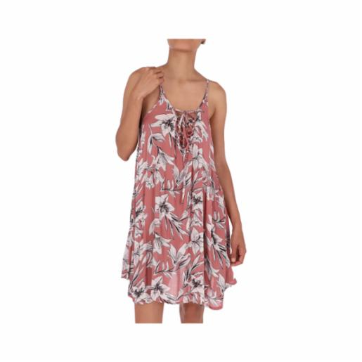 Vestido Roxy Softly Love Whitered Rose Lily House